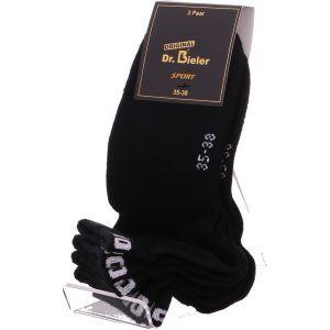 Dr. Bieler®  QUARTER SOCKEN, 3 Paar